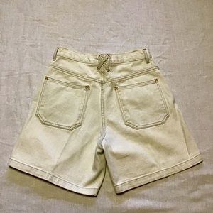 Vintage 80s mom high waisted Arizona jean shorts